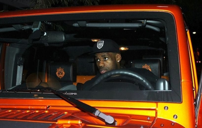 Top 15 Cars Lebron James Used To Drive Nba Strars Cars