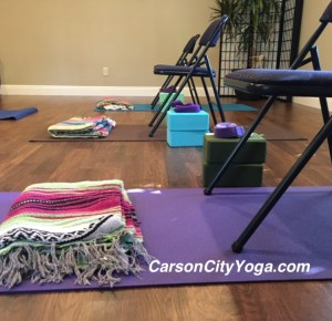 yoga with chairs