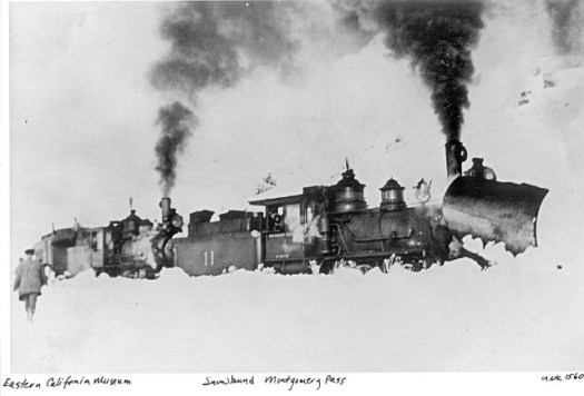 Snowbound in Montgomery Pass (Eastern California Museum)