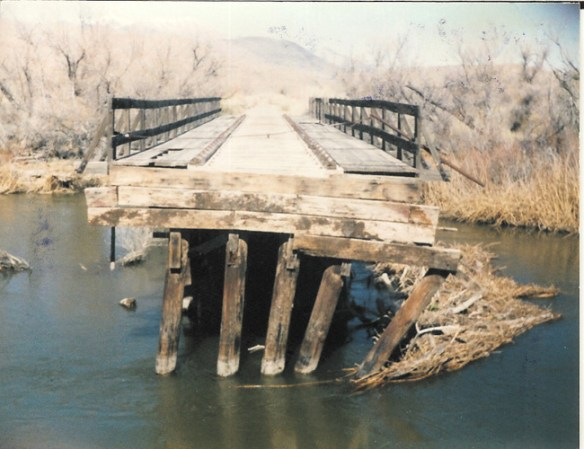 The south bridge prior to being dismantled in the 2000's
