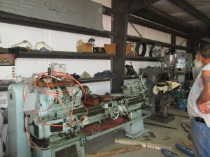 Our new machine shop