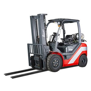 Baoli Internal Combustion Counterbalanced Pneumatic Tire Truck Linde Forklift Carson Material Handling