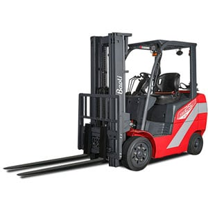 Baoli Internal Combustion Counterbalanced Cushion Tire Truck Linde Forklift Carson Material Handling