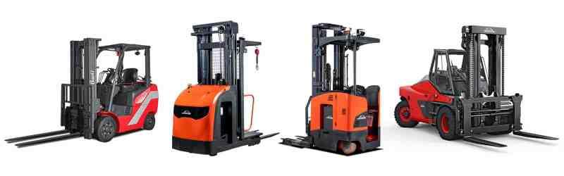 Linde Forklifts Carson Material Handling
