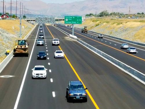 Carson City Freeway is Finally Finished