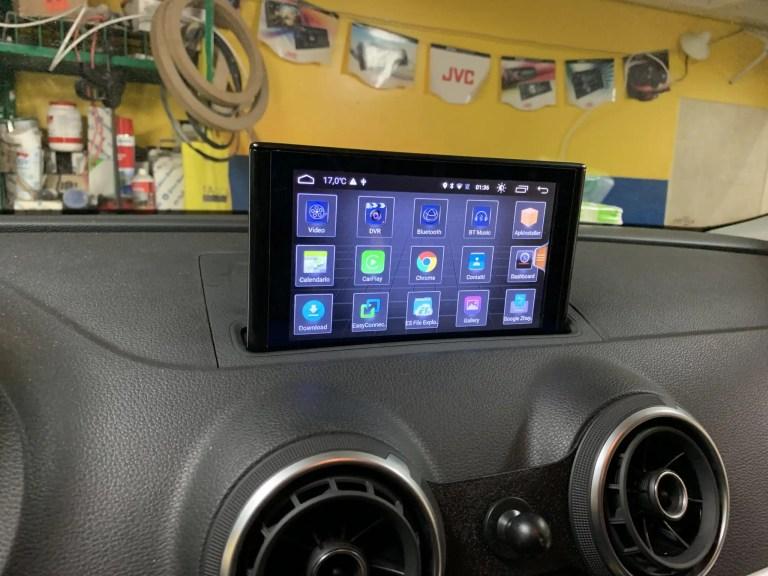 Navigatore Audi A3 (2013-2018)7 pollici motorizzato Android GPS Multimediale