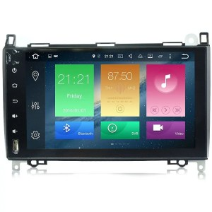 AUTORADIO NAVIGATORE 9″ CLASSE A, CLASSE B, VITO, VIANO, SPRINTER ANDROID 9.0 FULL TOUCH KJD
