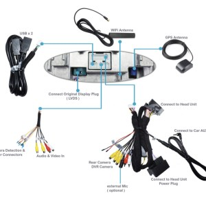 10.2″ Android USB Navigation Carplay BMW X1 E84 + i-Drive