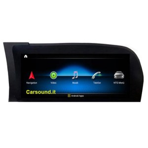 """10 """"Touchscreen Android Navigazione GPS Carplay Benz S W221 CL W216 NTG3.0 / NTG3.5"""