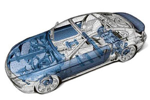 Устройство автомобиля - двигатель автомобиля, кузов и ...