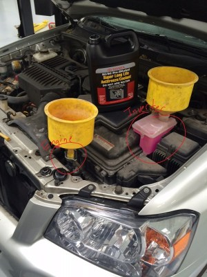Toyota and Lexus 3033L 1MZ3MZ V6 engine timing with photos