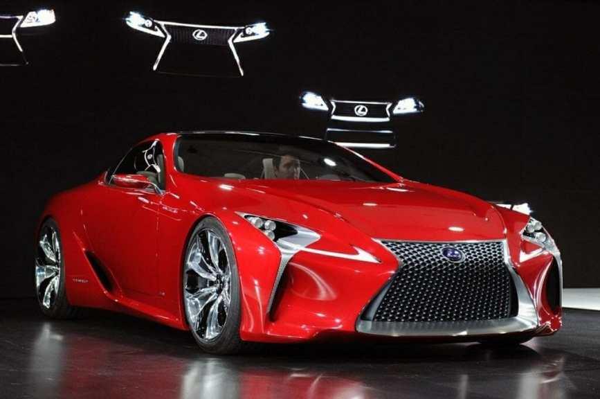 2019 Lexus LF-LC New Release