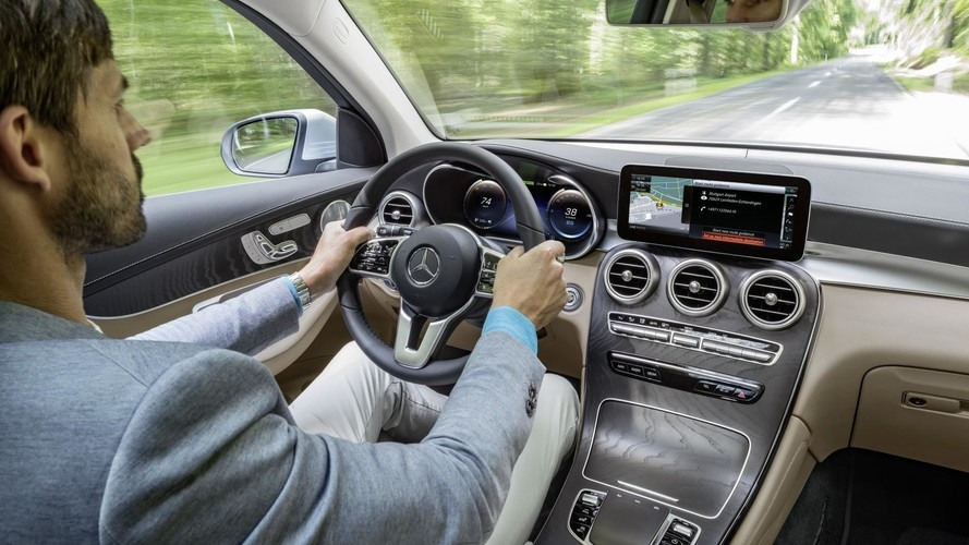 Mercedes Glc 2019 Interior