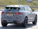 The 2018 Jaguar Xq CRossover Spy Shoot