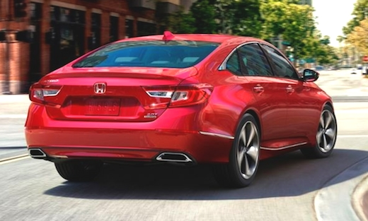 The 2019 Honda Accord Pictures Picture