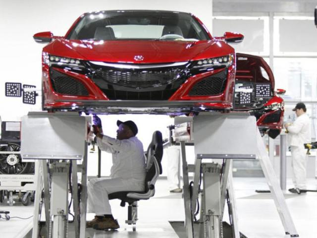 The One Who Makes Acura Cars Is…
