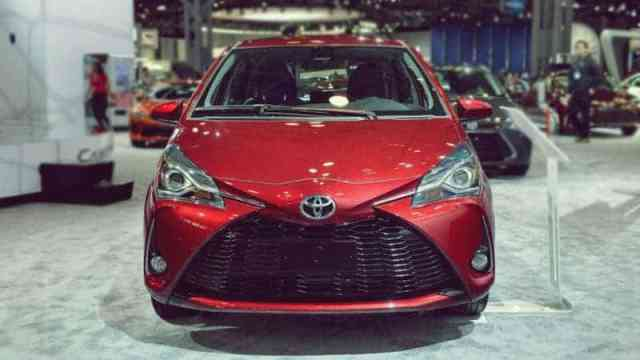 2019 Toyota Yaris Front View