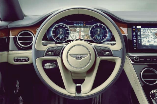 Bentley Continental GT Cockpit - 2019 Bentley Continental GT