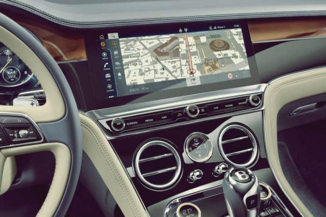Continental GT Dashboard - 2019 Bentley Continental GT