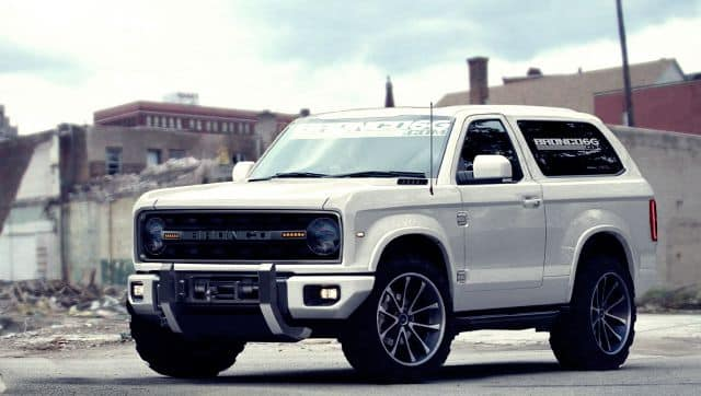 Ford Bronco Rendering
