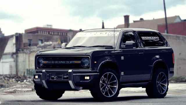 New Bronco Concept Rendering