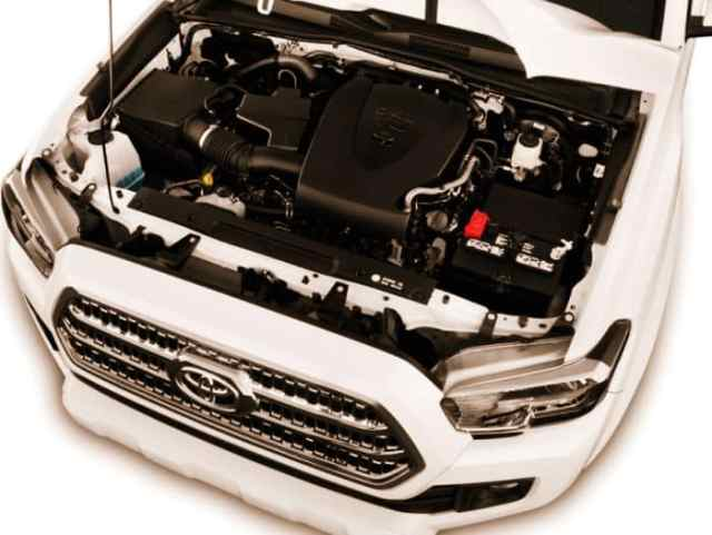 New Toyota Tacoma TRD Sport Engine