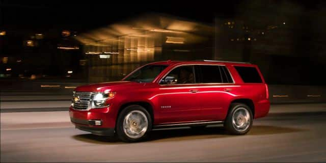 The Latest Chevy Tahoe