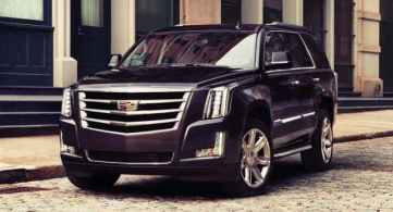 2018 Escalade Exterior Design