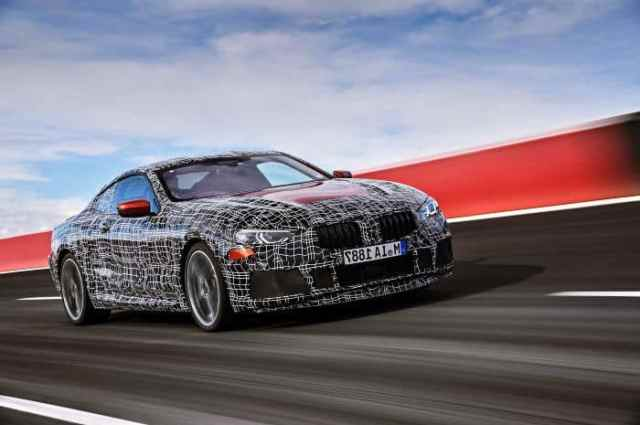 2019 BMW 8 Series Prototype