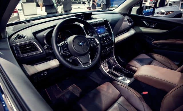 2019 Subaru Ascent Cockpit