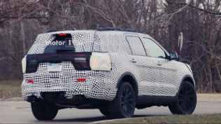 Ford Explorer Spy Photo