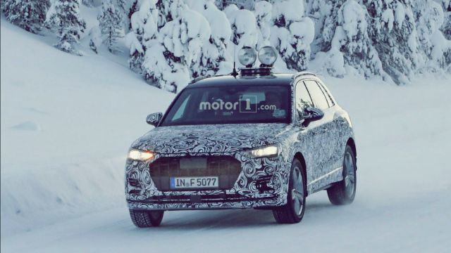New Audi Q3 Spy Shot