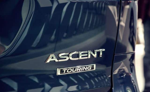 Subaru Ascent Branding