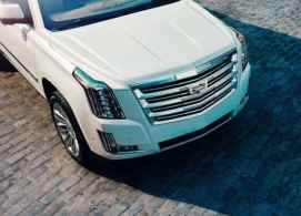 White Escalade 2018