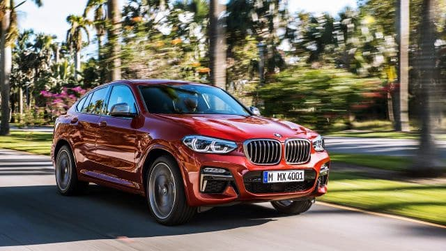 2019 BMW X4 Crossover