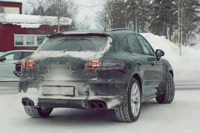 2019 Macan Spied