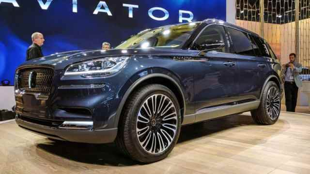 Lincoln Aviator on New York Auto Show