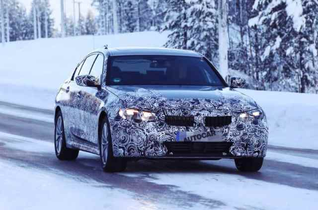 New BMW 3 Series Spy Photo