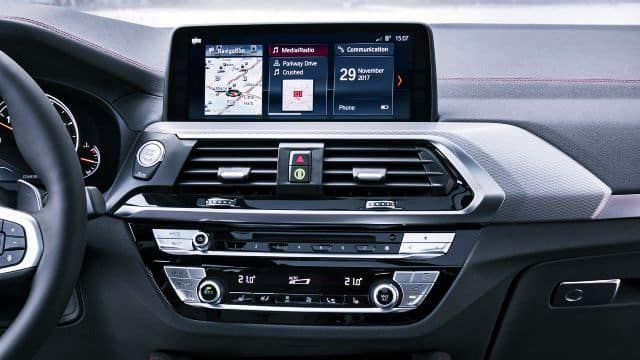 New BMW X4 Multimedia Features
