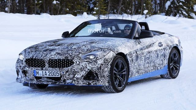 New BMW Z4 2019 Spy Photo