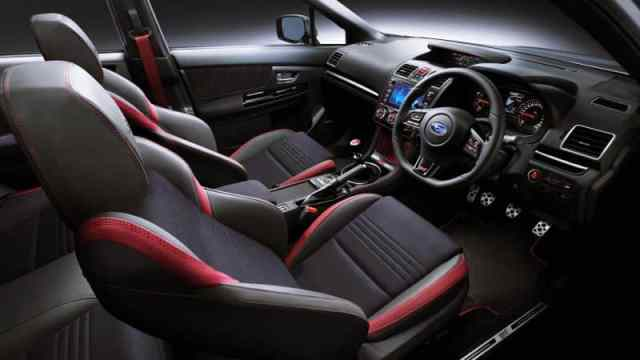 New WRX STI Interior