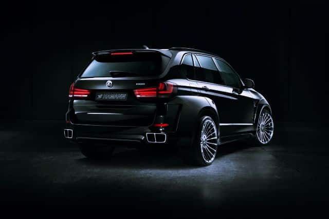 New X5 BMW Rear View