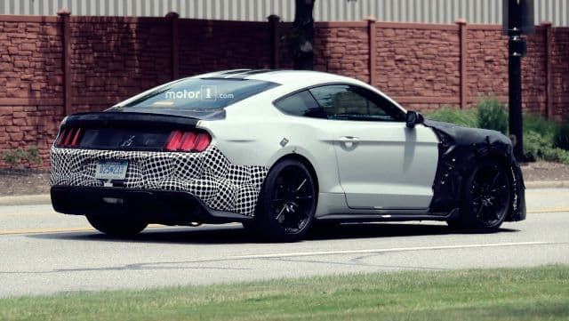 Shelby GT500 Spied 2019