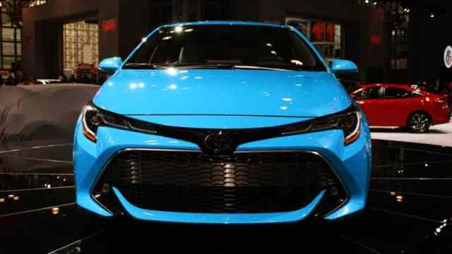 2019 Corolla at 2018 New York Auto Show