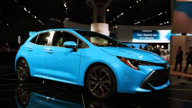 Corolla at New York Auto Show