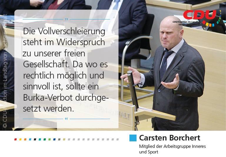 Rede im Landtag zur Gesichtsverschleierung im öffentlichen Raum