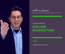 Carsten Stolle Online Marketing Berlin stolle & friends