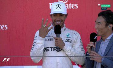 Hamilton campeão !