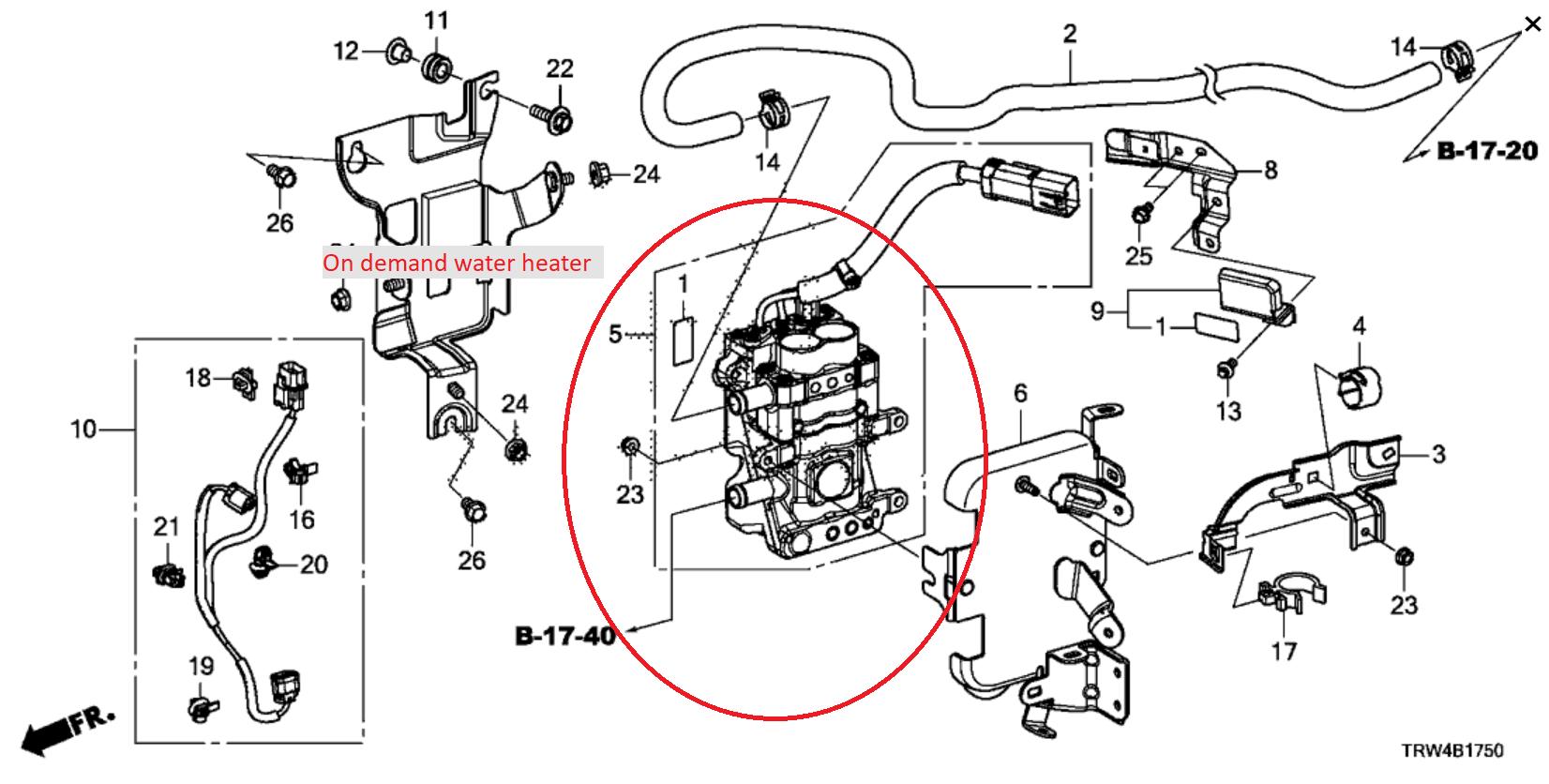 Electric Car Heaters: Honda Clarity