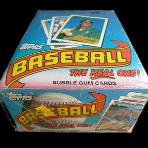 Collectible Topps Baseball Trading Bubble Gum Cards: 1989 the Real One